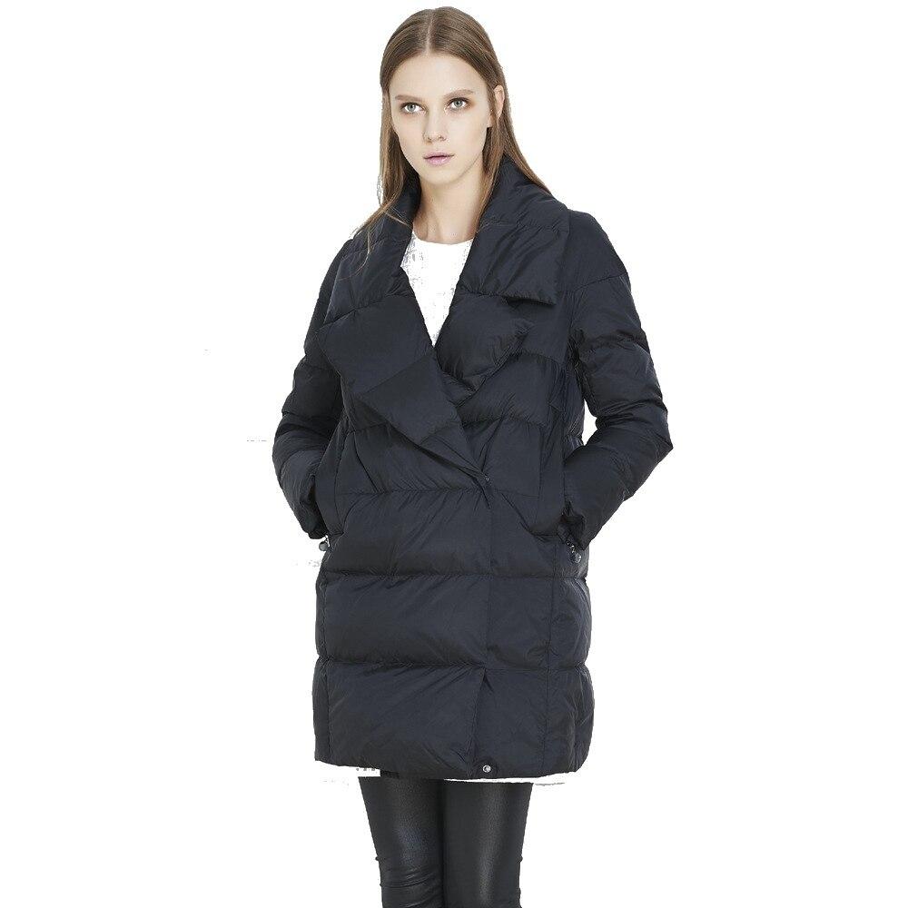 Evafreedom 2017 winter ladies fashion brand down jacket womens fashion thick down coat UV1229