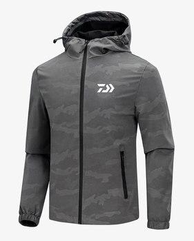 fd1c67f63 DAIWA nuevo respirables de los hombres de Pesca vadeando chaqueta  impermeable ave de pesca ropa de la chaqueta de caza al aire libre ropa de  pesca