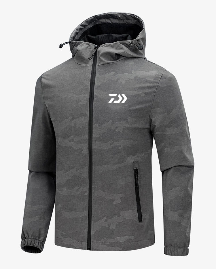 DAIWA New Men's Breathable Fly Fishing Wading Jacket Waterproof Fishing Wader Jacket Clothes Outdoor Hunting Fishing Clothing