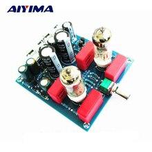 Aiyima Actualizaciones 6J1 Válvula Tube Preamp Buffer Pre-amplificador Junta compatible 6BC5 6AK5 EF95 CV850