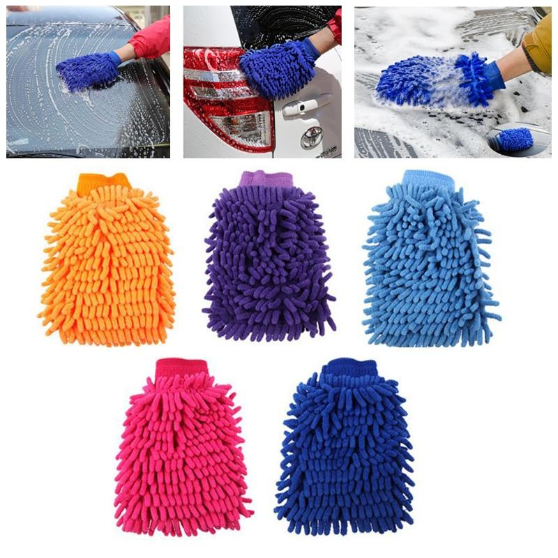 Microfiber Kitchen font b Household b font Washing Cleaning Towel Cloth Duster font b Gloves b