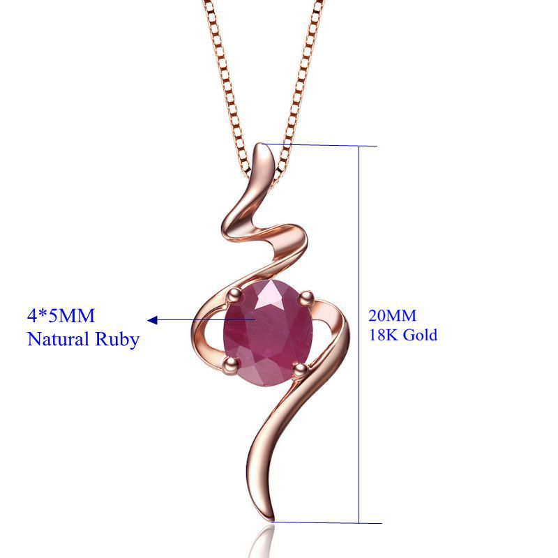 2016 new fashion simple classic ruby gold jewelry gemstone 2016 new fashion simple classic ruby gold jewelry gemstone necklace pendant wedding pendant fine jewelry valentine girls gift in pendants from jewelry aloadofball Images