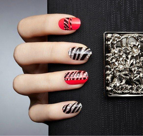 Hot Selling 54 Modelsset Nail Art Sticker Designer Nail Wraps Color