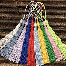 32pcs Polyester 13cm Silk Tassels Fringe Spike Hanging Curtains Mix Pick For Sewing Decor DIY Jewelry Making 32 Colors
