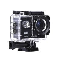 Экшн-камера HD 1080P видео запись для мотоциклов, для велосипедов видеокамера DVR DV рекордер Спорт Go Водонепроницаемый Pro водолазный шлем камера