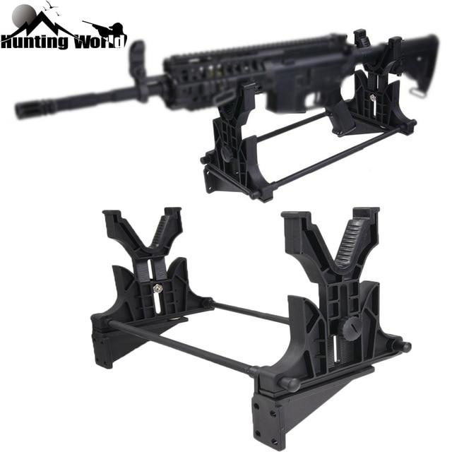Подставка для ружья, тактическая стойка для уборки, обслуживания и демонстрации винтовки, подставка для пистолета, держатель, настенная подставка для охотничьей винтовки, аксессуары