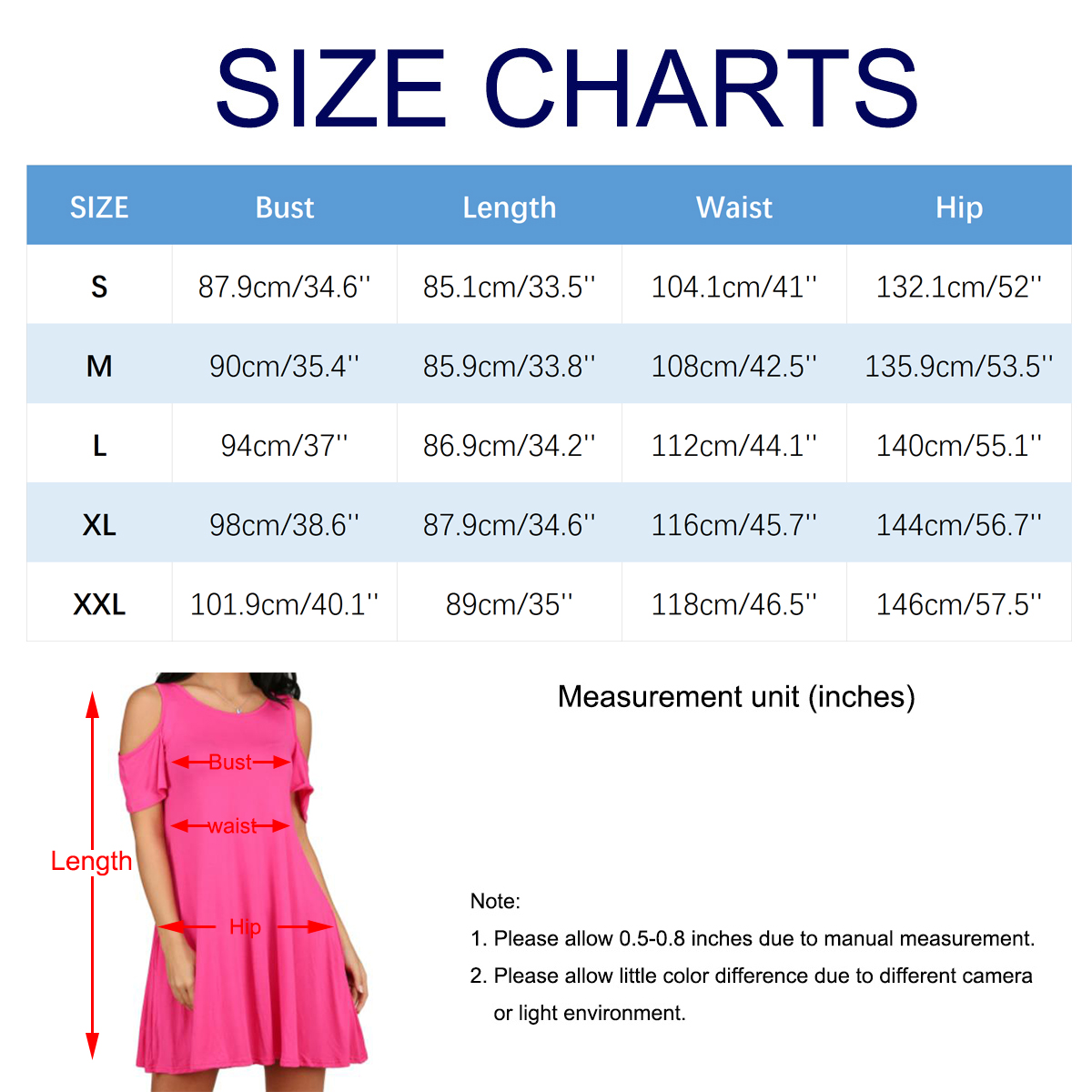 e25a536af6679 Ypser Women s Cold Shoulder Jersey Dress with Pocket Swing Tshirt Dresses  Loose Tunic Top-in Dresses from Women s Clothing   Accessories on  Aliexpress.com ...