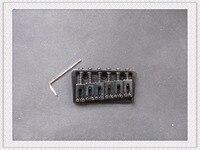 NEW 6 String Guitar Bridge Black Tremolo Guitar Bridge Electrical Guitar Tremolo Bridge Musical Instrument Part