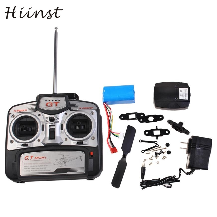HIINST New 53 Inch Extra Large GT QS8006-2 Speed 3.5 Ch RC Helicopter Builtin Gyro Red may 25 P30 Ag15 gift