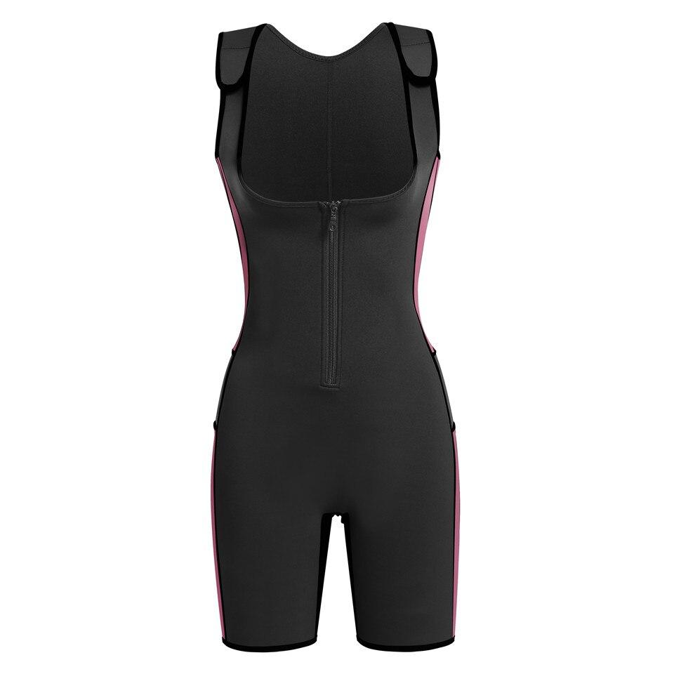 8bc943de747 Junlan Women Bodysuit Neoprene Control Shapewear One Piece Slimming Corset  Vest Female Waist Trainer Modeling Strap Body Shaper-in Bodysuits from  Underwear ...