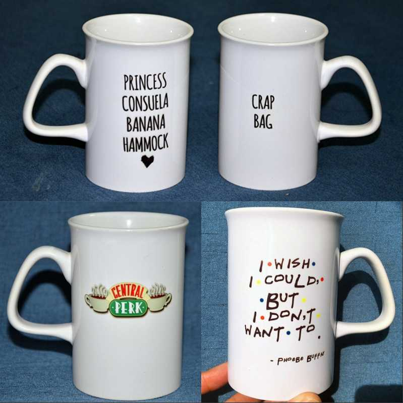 Milk New Series Perk Coffee Central Ceramic Mugs Tea Tv Friends mn0w8NvO