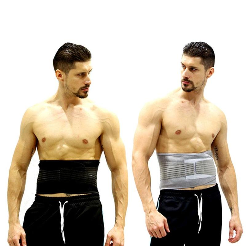 Men Women Elastic Breathable Lumbar Brace Waist Support Sport Safety Accessories Corset Orthopedic Posture Back Belt цена 2017