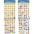 4 Листов 192-Style Cut Emoji Стикер Мобильного Телефона Улыбка для Ноутбуков Сообщение Высокая Винил Смешно Творческий Бесплатная Доставка