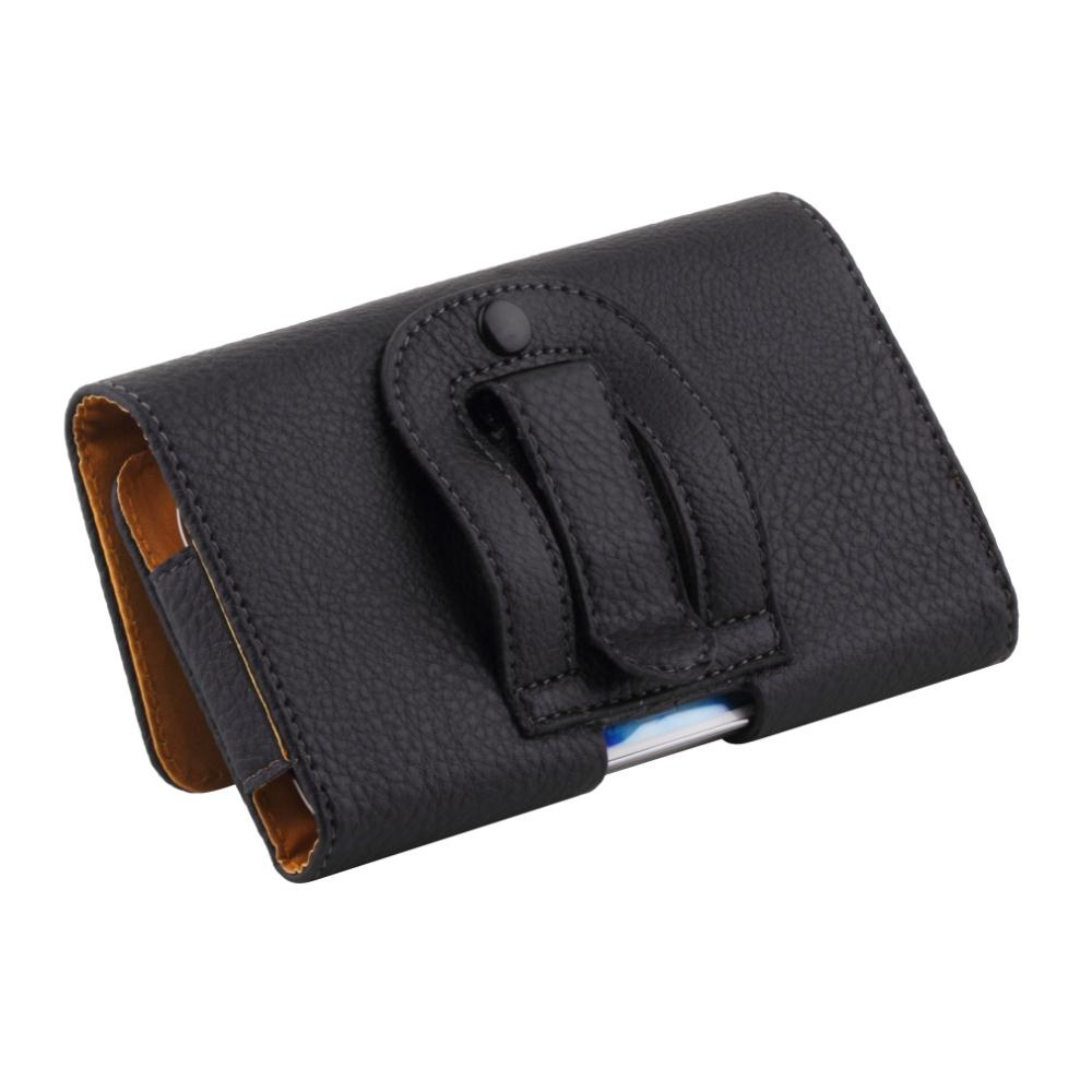 New arrival Belt Holster 1pcs Clip Leather Protective Case Cover for Samsung Galaxy S4 S3 free shipping