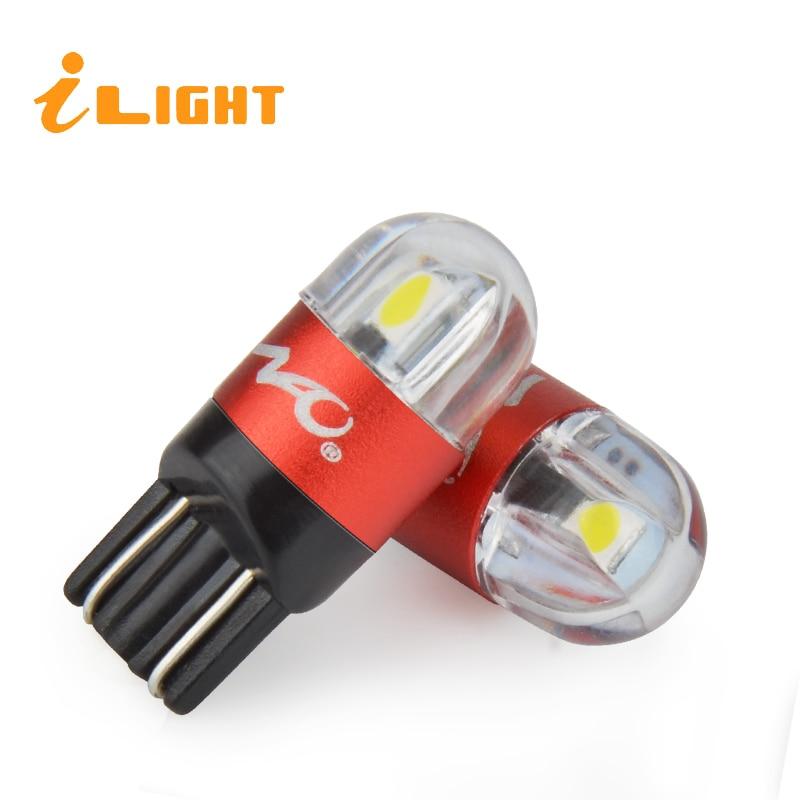 iLight W5W T10 LED Car Lights Car Interior Lighting W5W LED Parking Lights LED T10 Turn Signal Lamp Clearance Lights 3030 300LM цена 2017