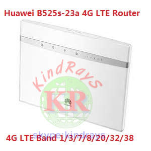 Unlocked Huawei B525 B525s-23a 4G CPE Industrial Wifi Router 4G LTE Band  1/3/7/8/20/32/38