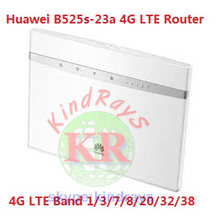 Desbloqueado Huawei B525 B525s-23a 4G CPE enrutador wifi industrial 4G LTE repetidor wifi 5g lte del router 12v router wifi 4g(China)