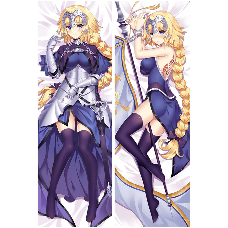 US $7 99 20% OFF|Anime fate/stay night pillow Covers Fate/Grand Order/Zero  Sexy 3D Double sided Bedding Hugging Body pillowcase Customize FT013A-in