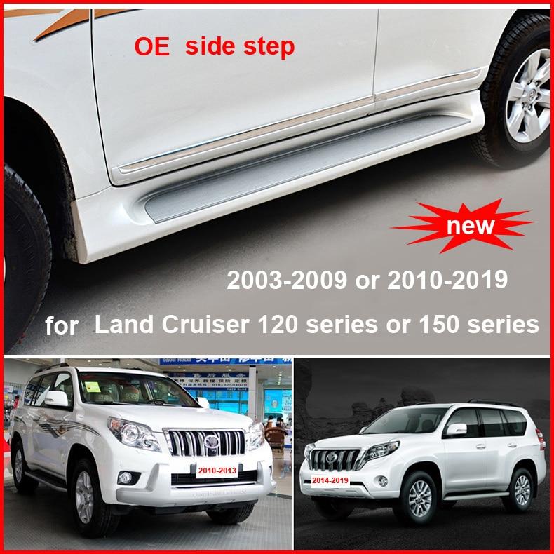 Hot side step nerf bar papan berjalan untuk Toyota Land Cruiser Prado - Suku cadang mobil - Foto 1