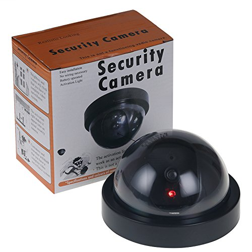 Image 5 - Fake Camera Wireless Simulated Video Surveillance indoor/outdoor Dummy Dome Camera With Flashing Red Led Light Home Security