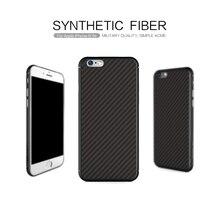 Для iphone 6 (4.7 дюймов) дело NILLKIN Синтетического волокна обложка чехол Розничный пакет бесплатная доставка ПП назад shell для iphone 6 s