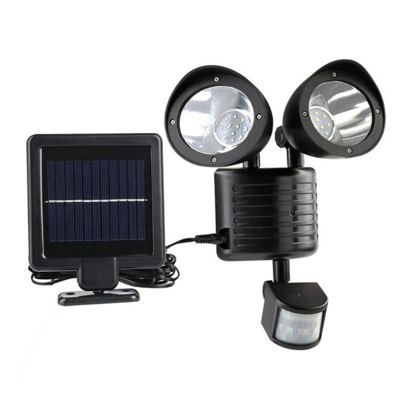 22LED Solar Wall Light PIR Motion Sensor Solar Lamp Outdoor Yard Garden Security Lamps Waterproof Home Night Lighting недорого