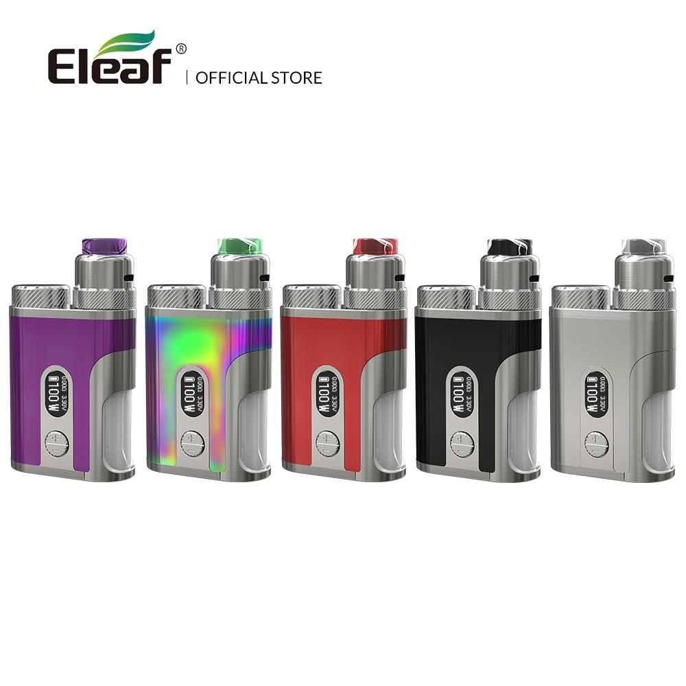 D'origine Eleaf Pico Squeeze 2 Kit avec Corail 2 Atomiseur 100 w vaporisateur kit 8 ml réservoir cigarette électronique