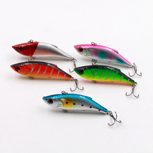 New 1Pcs Artificial Minnow Swim Fish Lure Laser Reflective 3D Eyes Hard Baits Hooks For Wobbler Pike Winter Fishing Decoy Tools