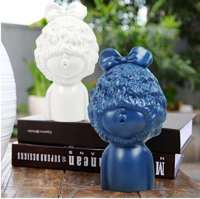 European children s character avatar statue crafts creative birthday gifts home desktop decoration supplies office small