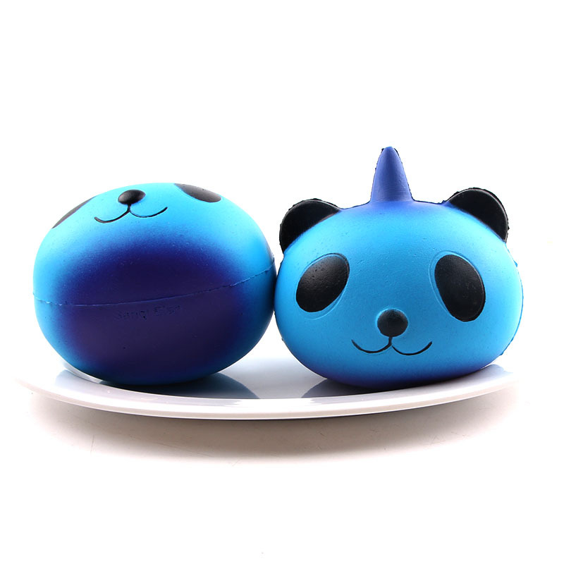 Mobile Phone Straps Fun Kid Toy Xmas Cartoon Cake Bun Jumbo 10cm Cute Emoji Colorful Face Panda Squishy Bread Slow Rising Excellent Quality Cellphones & Telecommunications