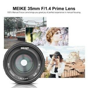 Image 4 - Meike 35mm f1.4 Large Aperture Manual Focus APS C lens for Sony NEX3/3N/5/5T/5R/5N/NEX6/7/a5000/a5100/a6000/a6300 + Gift