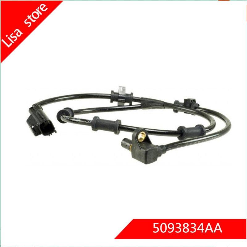 ABS Sensor Front L//R Fits Dodge Ram 2500 Pickup Ram 3500 Pickup 2003 5103493AA