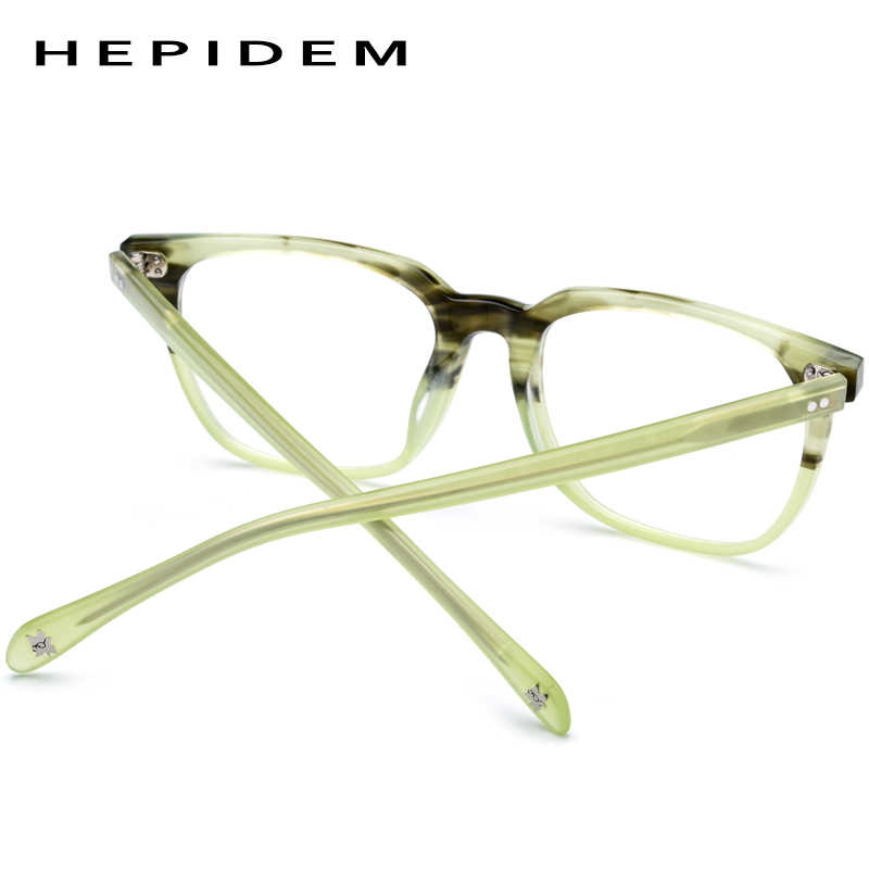 eae2ee0e38eb ... Acetate Glasses Frame Men Square Prescription Eyeglasses 2019 New Women  Male Myopia Optical Frames Clear Spectacles ...
