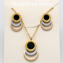 3 Colour Stainless Steel Jewelry Set