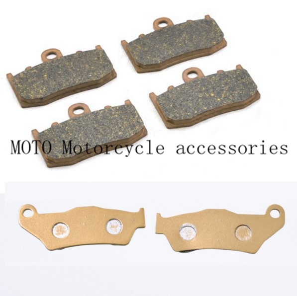 R850RT 2006 Motorcycle Front & Rear Brake Pads Set Motorbike Brake Pads For BMW R1100S 00-03 R1150GS 01 02-04 R1150RT 00 01-2004 mfs motor motorcycle part front rear brake discs rotor for yamaha yzf r6 2003 2004 2005 yzfr6 03 04 05 gold