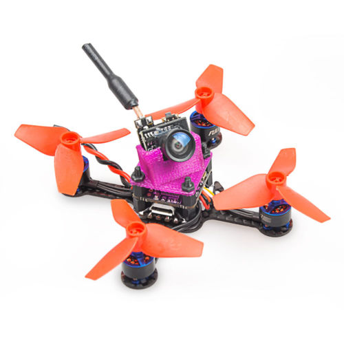 JMT Mini Beebee-66 Lite 1S Brushless FPV Racer Drone RC PNP With FRSKY Receiver Racer Aircraft Quadcopter mini 95gt pnp brushless racer drone 1103 motor 4 alxe indoor quadcopter with fm800 flysky frsky dsm2 no receiver tx f20974