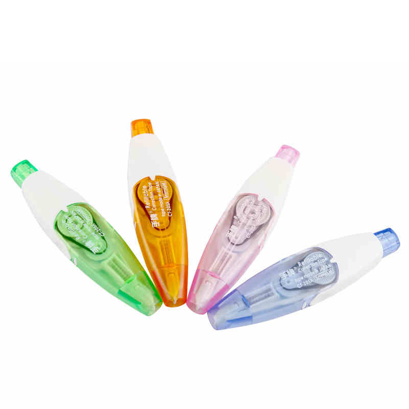 Openhartig Taiwan Sdi Druk/klik Correctie Tape Hervulbare 5mm * 6 M Translucent Kwaliteit Briefpapier Kids School Kantoorbenodigdheden Ct-205 1 Pcs