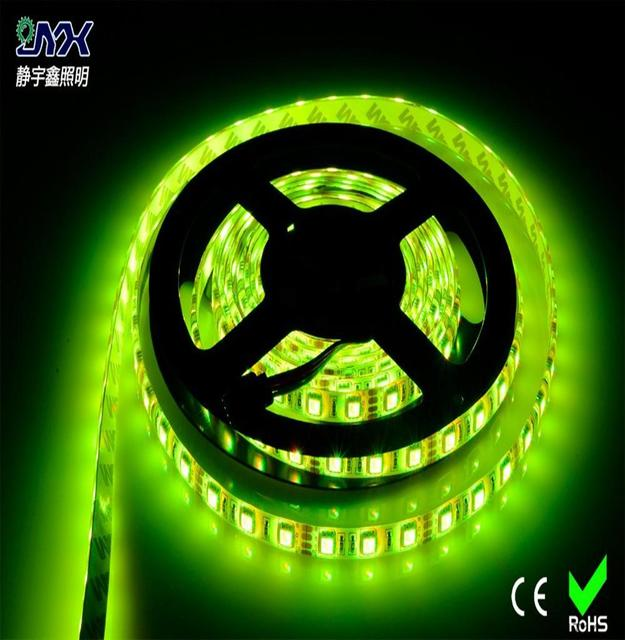 Green Led Light Strips Interesting DC60V LED Flexible Strip 60 Meter 60LED Green Color LED Light Strip