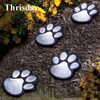 Thrisdar Solar Garden Animal Paws Prints Light 1 TO 4 Outdoor Garden Landscape Pathway Solar Underground