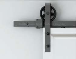 Free shipping Dimon hot sell heavy wooden sliding door hardware DM-SDU 7210 without sliding track