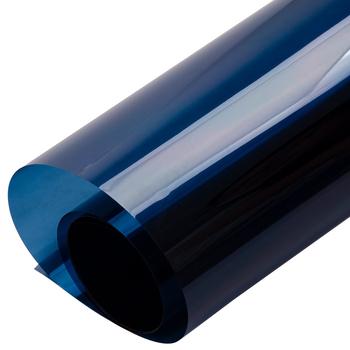 Ciemny niebieski dekoracje Solar odcień szkła folia folie okienne szkło architektoniczne folia dekoracyjna do domowego biura z szerokość 50 cm 20 #8243 tanie i dobre opinie SUNICE 80 -100 10 -20 0 5m BB-06D 0 1kg Privcacy Dark Blue Boczne Szyby 0 1inch Dekoracyjne folia i tatuaże Folie okienne i ochrona słoneczna