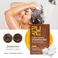 Jasmin Natürliche Shampoo Bar Seife Reparatur Beschädigt Haar Glatter Weicher Handmade Kein Chemikalien & Konservierungsstoffe Haar Pflege-in Shampoos aus Haar & Kosmetik bei