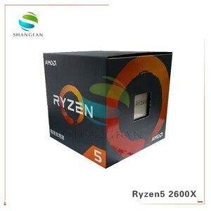 Image 5 - Nuovo Box CPU AMD Ryzen5 2600X R5 2600X3.6 GHz a Sei Core Dodici Filo 95W CPU processore YD260XBCM6IAF Presa AM4 Con ventola di raffreddamento