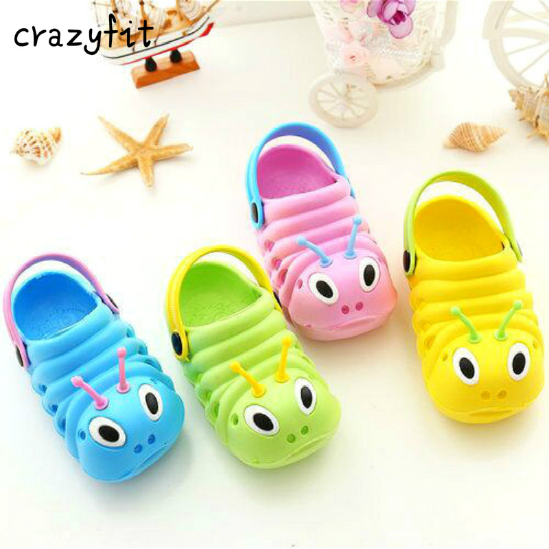 Hot Sale Limited Autumn And Baby Slippers Hole Shoes Cute For Garden Sandals Children's Anti Slip Cool Tow8