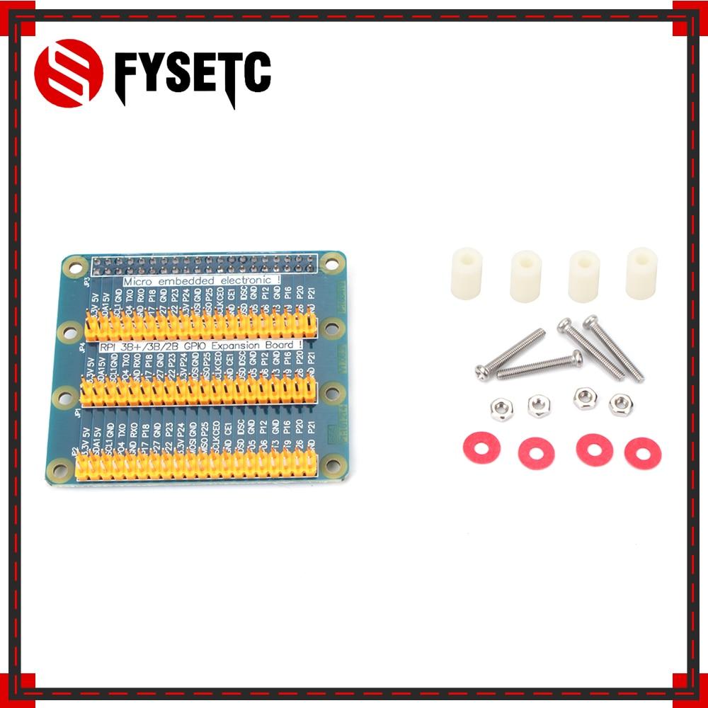 Raspberry Pi GPIO Adapter Plate 1 to 3 GPIO 40 Pin Extension Board for  Raspberry Pi 3/2 for Orange Pi PC