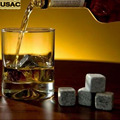 Bar Whisky Stones Cold Chiller Rocks Drink Bulk Home Beer Chilling Cooler Stones Wine Cooler Accessories 9pcs/Set Z20
