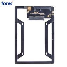 "НОВЫЙ 2.5 ""до 3.5"" Внутренний жесткий диск SSD SATA диск конвертер кронштейн Adapter Kit ж/bay преобразователь адаптер + Tornillos"