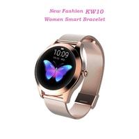 KW10 Smart Watch Women 2018 IP68 Waterproof Heart Rate Monitoring Bluetooth Smart Watch Bracelet Smartwatch For Android IOS