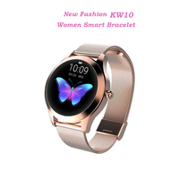 KW10 Smart Watch Women 2018 IP68 Waterproof Heart Rate Monitoring Bluetooth Smart Watch Bracelet Smartwatch For Android IOS