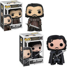 FUNKO POP Song Of Ice And Fire & Game Of Thrones Jon Snow Vinyl Action Figure Coleção Modelo brinquedos para presente das crianças(China)